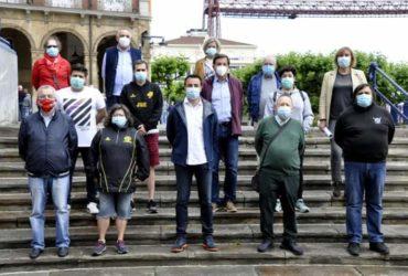 BIHOTZ ARATZ Y CLUBS DE PORTUGALETE JUNTOS CON EL BANCO DE ALIMENTOS